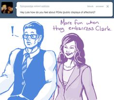 Ask Lois Lane - love this blog (via asklois.tumblr.com)