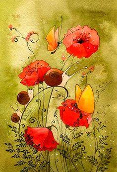 Пьяные цветы (Виктория Кирдий)