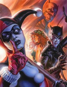 Gotham girls and batman