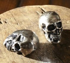 Skull Salt and Pepper Shakers from Pottery Barn's 2013 Halloween collection