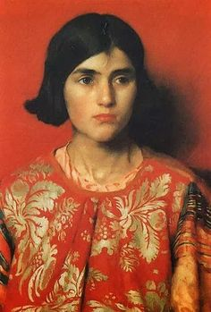 Thomas Cooper Gotch The Exile - Heavy is the Price I Paid for Love print for sale. Shop for Thomas Cooper Gotch The Exile - Heavy is the Price I Paid for Love painting and frame at discount price, ships in 24 hours. Cheap price prints end soon. L'art Du Portrait, Female Portrait, Female Art, Woman Portrait, Painting People, Woman Painting, Figure Painting, Painting Art, Illustration Art
