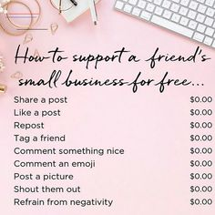 Just a few simple ways to support friends family and other small businesses like beauty pins Just a few simple ways to support friends family and other small businesses like for FREE Source by LovePinsForever Activewear Small Business Quotes, Support Small Business, Business Tips, Small Business Saturday, Body Shop At Home, The Body Shop, Interactive Facebook Posts, Farmasi Cosmetics, Citations Business