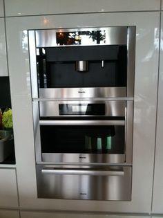 Miele appliances Steam oven bi conventional coffee machine