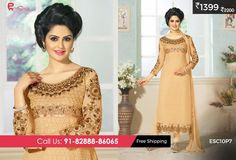 #Georgette #Suit #Skin for just Rs 1399/-Shop now @ http://enasasta.com/deal/fantastic-georgette-suit-skin Cash on Delivery at available (Rs99 extra) || Shipping Free Call or Whatsapp @08288886065
