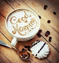 Good morning! Have a good coffee and let's roll! ☕