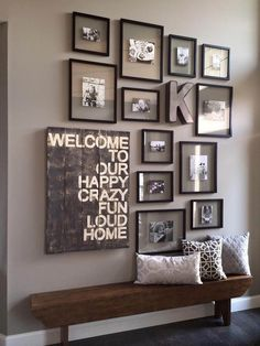 16 Stunning Room Decoration Ideas to Bring a Touch of Country at Home www. 16 Stunning Room Decoration Ideas to Bring a Touch of Country at Home www.futuri… 16 Stunning Room Decoration Ideas to Bring a Touch of Country at Home www. Decoration Hall, Entryway Decor, Rustic Entryway, Wall Decorations, Rustic Decor, Rustic Bench, Entryway Stairs, Front Hallway, Front Doors