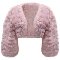 Pink Rabbit Fur Knit Caplet Shrug Evening Shawl (1 330 UAH) ❤ liked on Polyvore featuring accessories, scarves, pink, evening shawl, pink shawl, pink scarves, knit scarves and holiday scarves