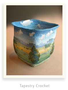 Caroline Routh - Tapestry crochet