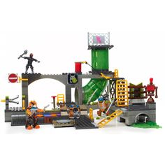 Mega Bloks Teenage Mutant Ninja Turtles Turtle Sewer Lair Free Shipping To US #NewBrand