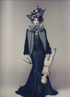 Adrien & Valeriia | Nicolas Guerin | FIASCO Magazine Annual Issue 2011 - 3 Sensual Fashion Editorials | Art Exhibits - Anne of Carversville Women's News