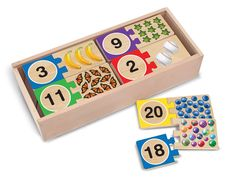 Shop Melissa & Doug Self-Correcting Number Puzzles (Developmental Toys, Wooden Storage Box, Matching & Counting Skill Development, 40 Pieces, cm H x cm W x cm L). Free delivery and returns on eligible orders of or more. Number Puzzles, Puzzles For Kids, Wooden Numbers, Letters And Numbers, Wooden Storage Boxes, Developmental Toys, Melissa & Doug, Wooden Puzzles, Wooden Toys