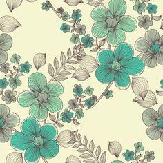Papel de Parede Floral 1399