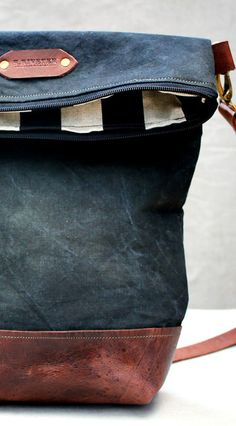 R. Riveter Military Bags Mrs. Bradley for BourbonandBoots.com