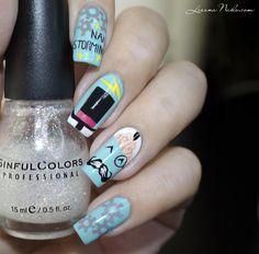 Happy Birthday Nailstorming [Nail Art] • Lizana Nail Art