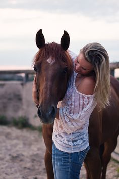 a girl and her horse - cowgirl