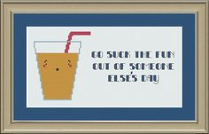 Go suck the fun out of someone else's day by nerdylittlestitcher, $3.00