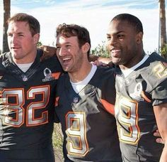 Dynamic Trio! Witten, Romo and Murray. 2015 Pro bowl ⭐