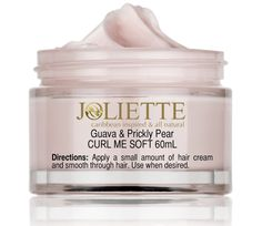 Joliette Curl Me Soft Guava and Prickly Pear and in Caribbean Berry - Styling aid to make your curl pop!