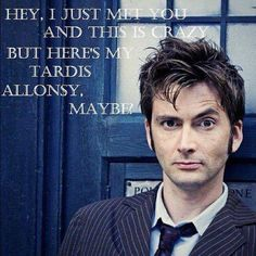 Doctor Who and Call Me Maybe, what what!