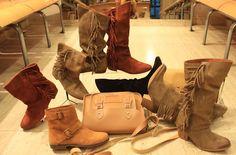 01d35ad20b302 Calzados NIZA y ZAS Shoes  Botas de serraje y colores tierra.