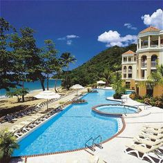 I've had this shot of this hotel in Rincon, Puerto Rico, on my list of places to go relax for years!