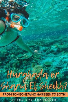Hurghada or Sharm El Sheikh? Such a difficult choice! They're both beautiful places by the Red Sea. Egypt Travel, Africa Travel, Hurghada Egypt, Egypt Culture, Sharm El Sheikh, Visit Egypt, Red Sea, All Inclusive Resorts, Adventure Is Out There