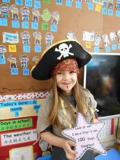 Pirates! 100 Days of School!
