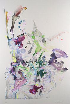 Julia Fernandez-Pol | Reef Series 2, #28 | Oehme Graphics  http://www.printed-editions.com/artwork/julia-fernandez-pol-reef-series-2-28-29244