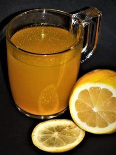 Chřipkový čaj: kurkuma, med a citrón | Žijeme homemade