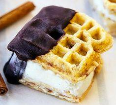 Easy Cinnamon Toast Ice Cream Sandwiches Recipe - yes please!