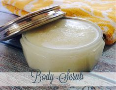 Homemade Body Scrub - paleocupboard.com. Made with all natural products and it leaves your skin so smooth and soft!