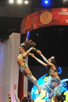 top gun, cheerleader in the air, competitive cheerleading, stunt, #cheer