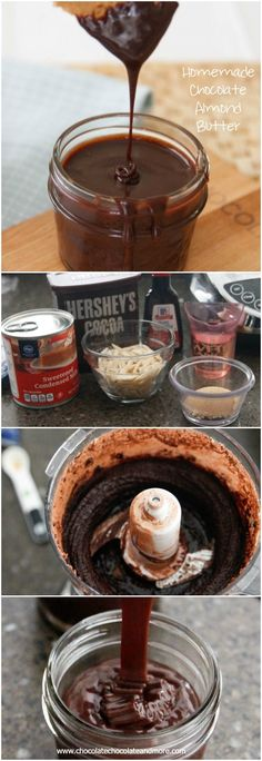 Chocolate Almond Butter or Homemade Nutella