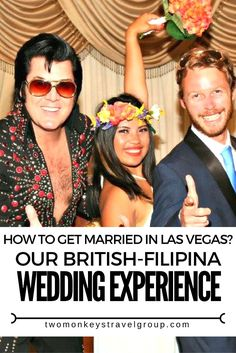 How to get married by Elvis in Las Vegas? Our British-Filipina Wedding Experience It all started with a white dress and a beautiful bunch of flowers left on the bed in our hotel room at the Golden Nugget, Las Vegas. Our real, legal wedding will of course be in the UK this summer with friends and family but once the casual suggestion had been made to pay a visit to Elvis Chapel we thought, when in Vegas be spontaneous!