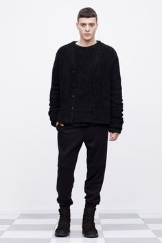 T by Alexander Wang 2013 Fall Collection. I have a fetish for black garments.