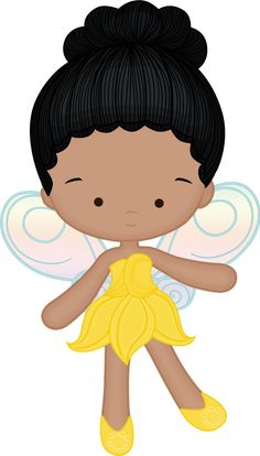 Cute Clipart Princesas e Príncipes - playing fairy yellow angie by lostanhellcreations. Felt Dolls, Paper Dolls, Tinkerbell Party, Cute Clipart, Cute Images, Chibi, Decoupage, Hello Kitty, Paper Crafts