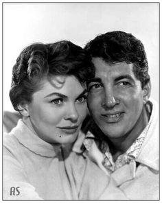 Dean Martin and Joanne Dru