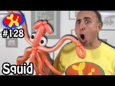 Squid - Balloon Animal Lessons #128 - YouTube