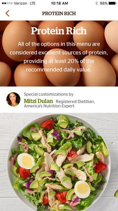 So much fun working with Panera Bread on their protein rich curated menus and being in their app! When using their app choose protein rich and you will see the salad I helped customize and lots of other delicious protein rich options! (sponsored)