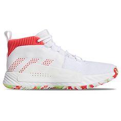 c1a4548d ADIDAS ORIGINALS MEN'S DAME 5 BASKETBALL SHOES, WHITE. #adidasoriginals  #shoes