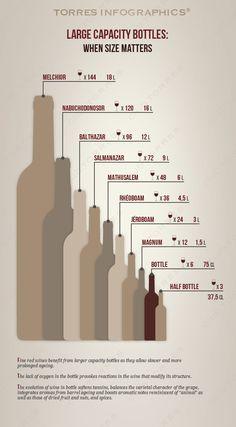Large capacity #wine bottles by @torreswines | Torres Wine Club