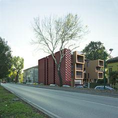 Progetto di residenze universitarie. Marghera, Venezia