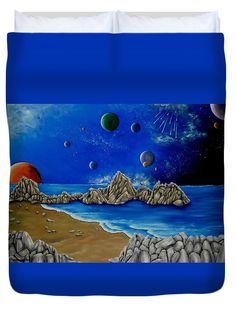 Duvet Cover,  home,accessories,bedroom,decor,cool,unique,fancy,artistic,trendy,unusual,awesome,beautiful,modern,fashionable,design,for,sale,items,products,ideas,blue,planets,universe