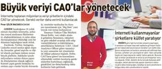Big Data Röportaj - Sabah Gazetesi İşte İnsan Eki - 25 Ocak 2015