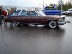 Cadillac Fleetwood station wagon - say what?