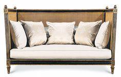Swoonworthy knoll-ish sofa from ebanista