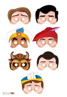 Printable PRINCE Masks. instant Download PDF file. por BessiePooh, $12.00