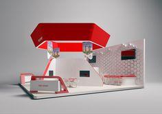ONE SEVEN // Exhibition Stand / Interschutz on Behance