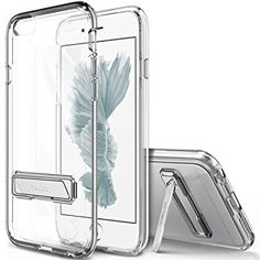 Amazon.com: iPhone 6S Case, OBLIQ [Naked Shield][Clear][Metal Kickstand] Thin Slim Fit Crystal Clear Case + TPU Bumper Armor Scratch Resist Protection for Apple iPhone 6S(2015) & iPhone 6(2014): Cell Phones & Accessories