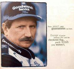 Quote of Dale Earnhardt Nascar Cars, Nascar Racing, Race Cars, Auto Racing, Nascar Quotes, Racing Quotes, Dale Earnhardt Crash, Jeff Gordon Nascar, The Intimidator